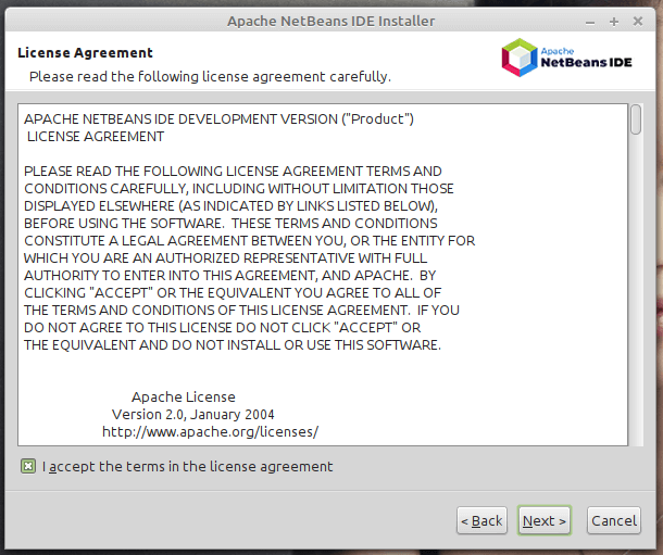 Licenza NetBeans IDE