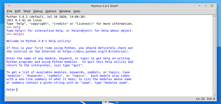 Come installare Python IDLE in Linux