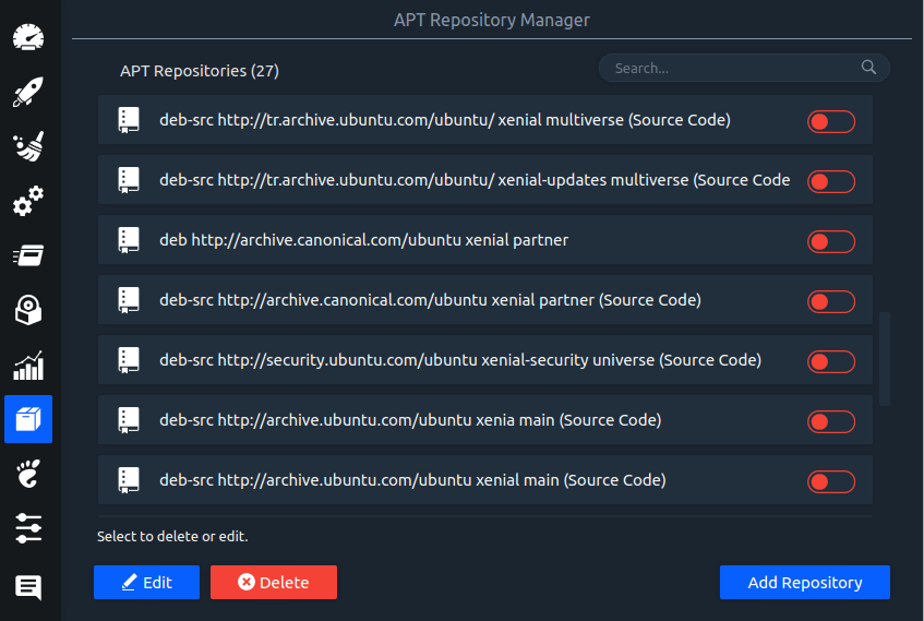 APT - Repository Manager