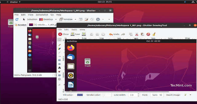 Come installare Shutter Screenshot Tool in Ubuntu 20.04